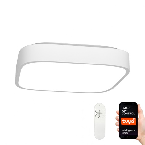 Immax NEO - LED Plafonieră dimmabilă RECUADRO LED/56W/230V + Telecomandă Tuya
