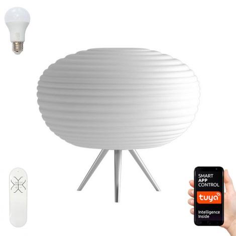 Immax NEO - LED RGB Lampă de masă dimmabilă COCONO 1xE27/8,5W/100-240V + Telecomandă Tuya
