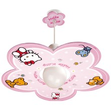 Klik 10252 - Lampa copii HELLO KITTY E27/60W/230V