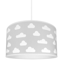 Lampa copii CLOUDS GREY 1xE27/60W/230V