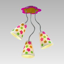 Lampa copii FLORIST 3xE14/40W/230V