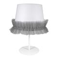 Lampă de masă copii BALLET 1xE14/40W/230V gri