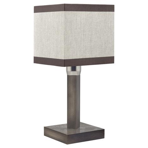 Lampa de masa LEA GRAY 1xE27/60W/230V