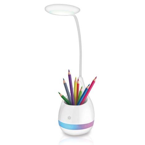 Lampă de masă LED RGB Dimming LED/4W/5V