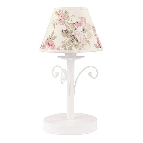Lampă de masă ROSA WHITE 1xE14/40W/230V