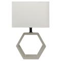 Lampă de masă VIDAL 1xE27/40W/230V bej