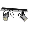 Lampa spot MARK 2 2xGU10/40W crom