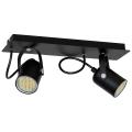 Lampa spot MARK 2 2xGU10/40W negru