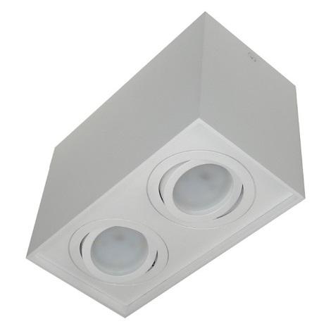 Lampă spot SIROCO 2xGU10/30W/230V alb