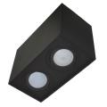 Lampă spot SIROCO 2xGU10/30W/230V negru