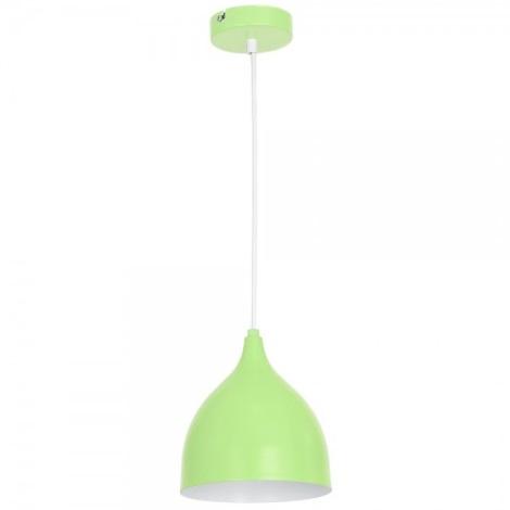 Lampa suspendata NOAK YOUNG E27/60W/230V verde