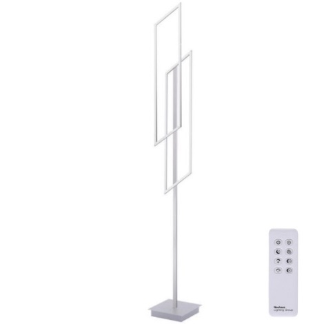 Lampadar LED dimabil Paul Neuhaus 819-55 INIGO 2xLED/20W/230V + telecomandă