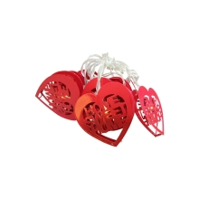 Lanț decorativ LED HEART LED/2xAA