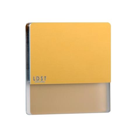 LDST DA-01-SZ-BC5 - LED iluminat scară DAISY 5xLED/1,2W/230V auriu 3500K