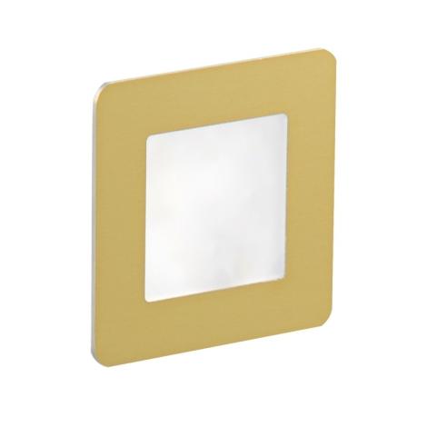 LDST DI-01-SZ-BC9 - LED iluminat scară DIANA 9xLED/1,2W/230V auriu 3500K