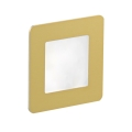 LDST DI-01-SZ-BZ9 - LED iluminat scară DIANA 9xLED/1,2W/230V auriu 6500K