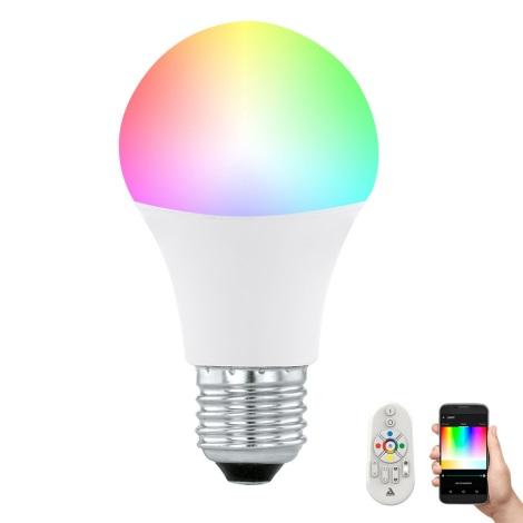 LED Bec dimmabil CONNECT E27/9W + telecomadnă - Eglo 11585