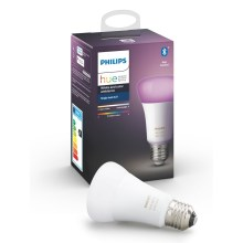 LED Bec dimmabil Philips HUE WHITE AND COLOR AMBIANCE E27/9W/230V 2000-6500K
