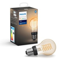 LED Bec dimmabil Philips HUE WHITE FILAMENT A60 E27/7W/230V 2100K