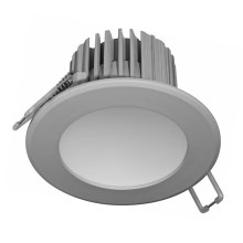 LED Corp de iluminat baie incastrabil LED/7W gri IP44