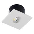 LED Corp de iluminat scară 1xLED/3W/230V 3000K