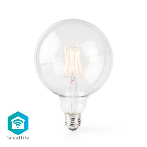 LED Dimmabil inteligent bec VINTAGE G125 E27/5W/230V