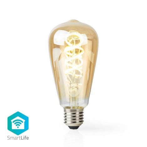 LED Dimmabil inteligent bec VINTAGE ST64 E27/5,5W/230V