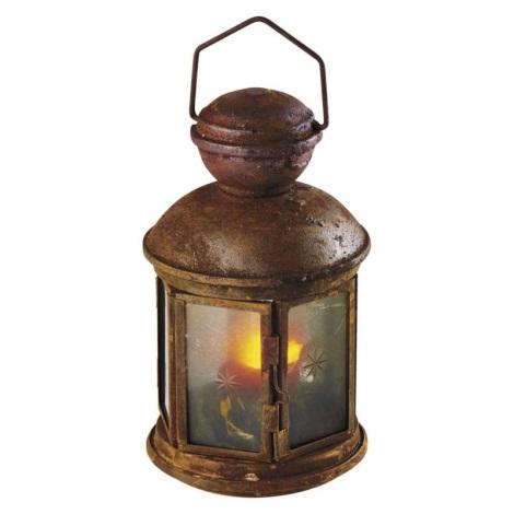 LED Felinar decorativ VINTAGE 1xLED/1,5W/3xAA