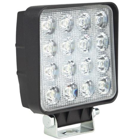 LED Lampă de lucru EPISTAR 16xLED/48W/10-30V IP67 6000K