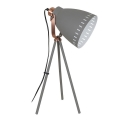 LED Lampă de masă 1xE27/8W/230V gri 52cm
