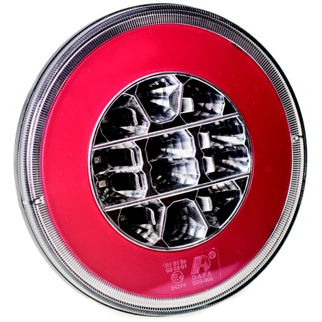 LED lampă de poziție MULTI LED/2,5W/12-24V IP67 roșu