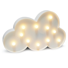 LED Lampă decorativă CLOUD LED/2xAA