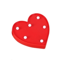 LED Lampă decorativă HEART LED/2xAA