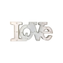 LED Lampă decorativă LOVE LED/2xAA