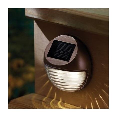 LED Lampă solară 2xLED/0,12W/2xAA 6500 K IP44