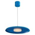 LED lampa suspendata LED/11W/230V albastru