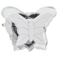 LED Lumină de noapte în priză 0,4W/230V fluture alb