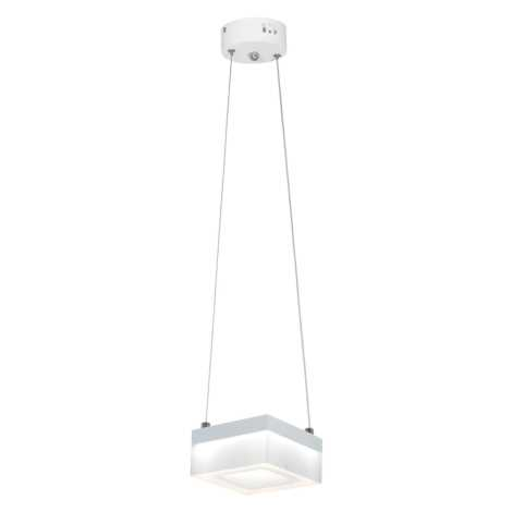 LED Lustră pe cablu CUBO LED/12W/230V pătrat