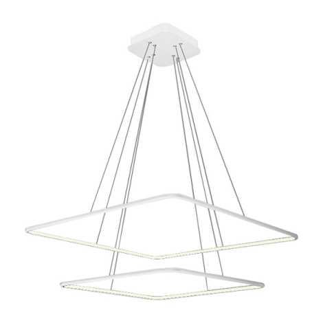 LED Lustră pe cablu NIX LED/50W/230V alb
