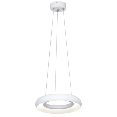 LED Lustră pe cablu RONDO LED/12W/230V alb