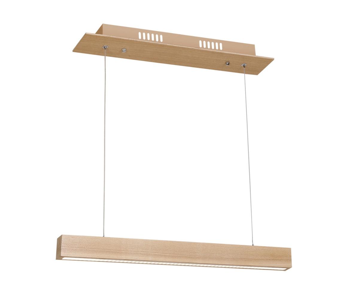 LED Lustră pe cablu TIMBER LED/12W/230V