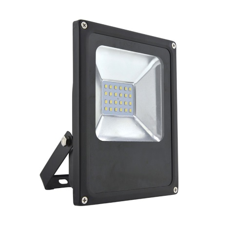 LED Proiector exterior HOBBY LED/20W/230V negru