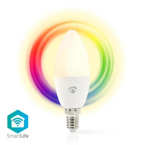 LED RGB Dimmabil inteligent bec E14/4,5W/230V