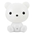 LED Veioză de noapte copii 2,5W/230V ursuleț alb