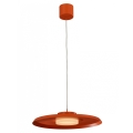 LEDKO 00444 - LED lampa suspendata LED/11W/230V portocaliu