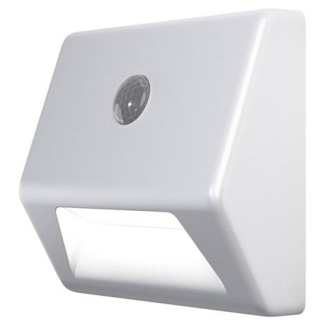Ledvance - LED Iluminat scară cu senzor NIGHTLUX LED/0,25W/3xAAA IP54