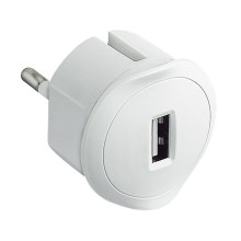 Legrand 50680 - Adaptor USB in priza 230V/1,5A alb