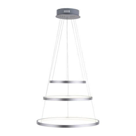 Leuchten Direkt 11526-55 - LED Lustră dimmabilă pe cablu CIRCLE 1xLED/13,5W/230V + LED/19,5W + LED/24W