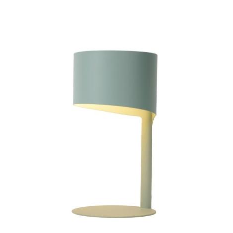 Lucide 03504/01/68 - Lampa de masa KNULLE 1xE14/40W/230V albastru deschis