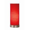 Lucide 03508/01/32 - Lampa de masa TUBI 1xE14/40W/230V rosu
